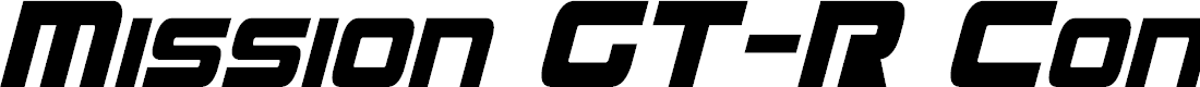 Preview image for Mission GT-R Condensed Italic