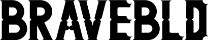 Preview image for BRAVE-Bold Font
