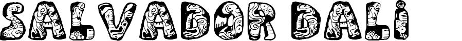 Preview image for Dali Regular Font