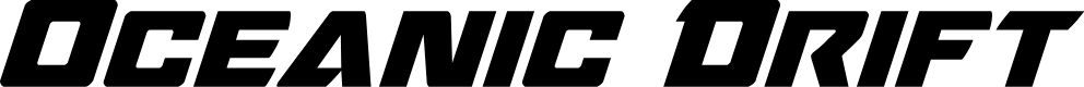 Preview image for Oceanic Drift Italic