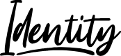Preview image for Identity Font