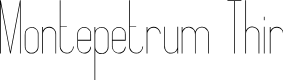 Preview image for Montepetrum Thin