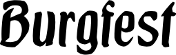 Preview image for Burgfest Font