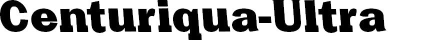 Preview image for Centuriqua-Ultra Font