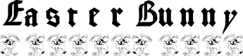 Preview image for EasterBunny Font
