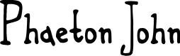 Preview image for Phaeton John Font