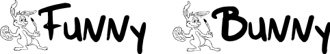 Preview image for Funny Bunny Font