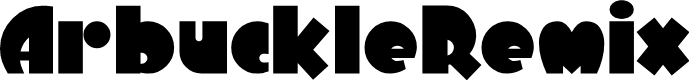 Preview image for ArbuckleRemix Font