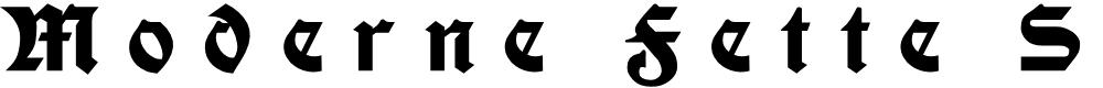 Preview image for Moderne Fette Schwabacher UNZ1A Italic