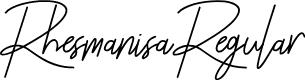 Preview image for Rhesmanisa-Regular Font