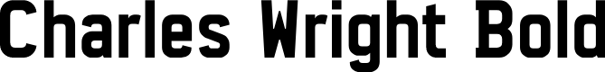 Preview image for Charles Wright Bold Font