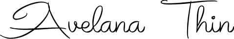 Preview image for Avelana Thin PERSONAL USE
