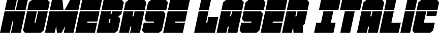 Homebase Laser Italic