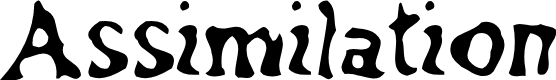 Preview image for Assimilation Font