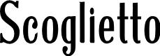 Preview image for Scoglietto Font