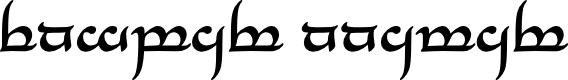 Preview image for Tengwar Annatar Bold