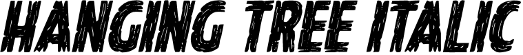Preview image for Hanging Tree Italic