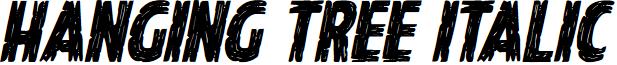Hanging Tree Italic