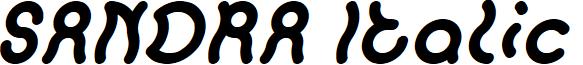 SANDRA Italic