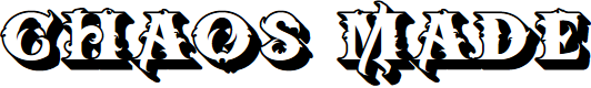 Preview image for BTX-Chaos-Made-Shadow Regular Font