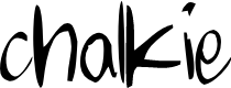 Preview image for chalkie Font