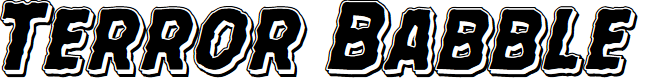 Preview image for Terror Babble Punch Italic