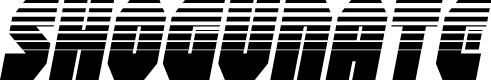 Preview image for Shogunate Halftone Italic