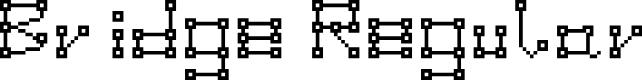 Preview image for Bridge Regular Font
