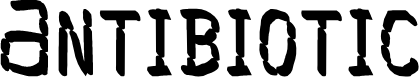 Preview image for Antibiotic Font