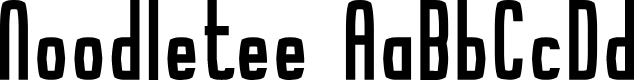 Preview image for Noodletee Font
