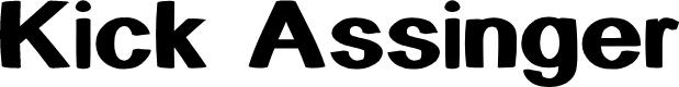 Preview image for Kick Assinger Font