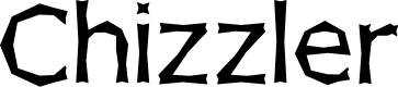 Preview image for Chizzler Normal Font