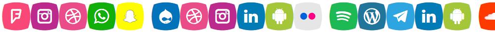 Icons Social Media 5