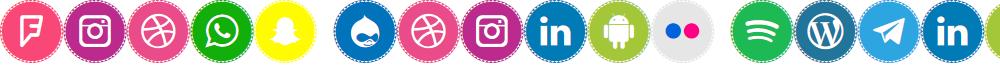 Icons Social Media 11