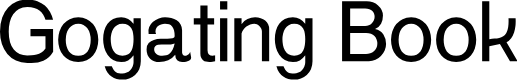 Preview image for Gogating Book Font