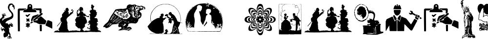 Preview image for Random Dingbats Font