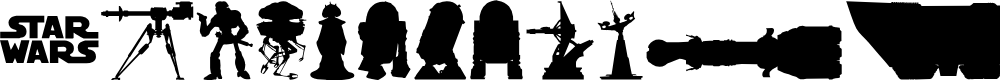 Preview image for StarWars  Kit Font
