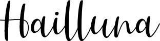 Preview image for Hailluna Font