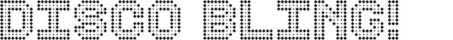 Preview image for Disco Bling Regular Font