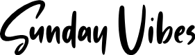 Preview image for Sunday Vibes Font