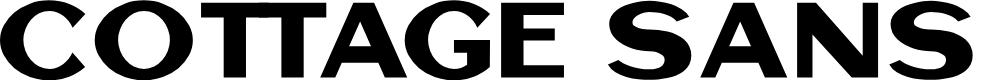 Preview image for Cottage Sans DEMO Font