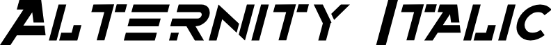 Alternity Italic