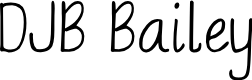 Preview image for DJB Bailey Font