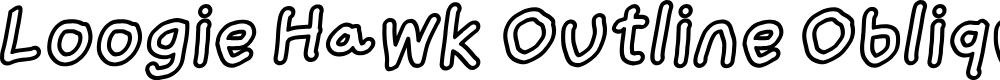 Preview image for Loogie Hawk Outline Oblique