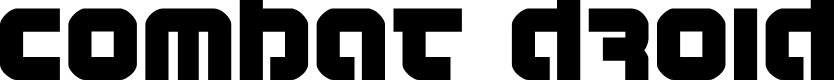 Preview image for Combat Droid Font