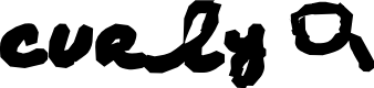 Preview image for AEZ curly Q Font