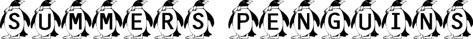 Preview image for Summer's Penguins Font