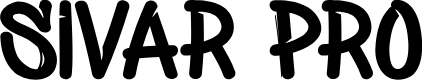 Preview image for Sivar Pro Font