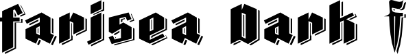 Preview image for Farisea Dark Font