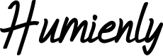 Preview image for Humienly Font